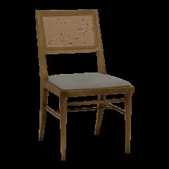 Cadeira de Jantar CD - 163 Palha Fechada