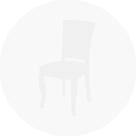 Cadeira de jantar CD - 111 Palha fechada.